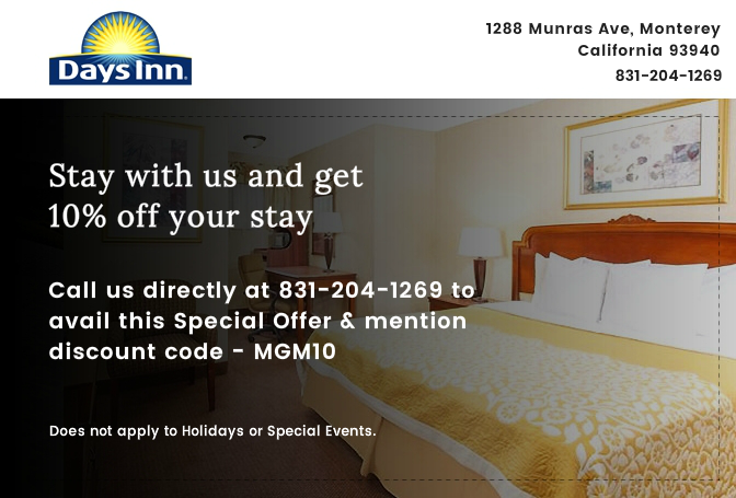 Stay with us and get 10% off your stay