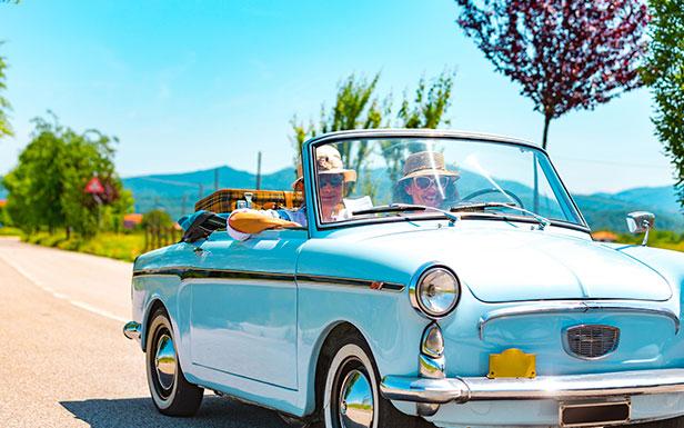 Monterey Bay Classic Car Rentals