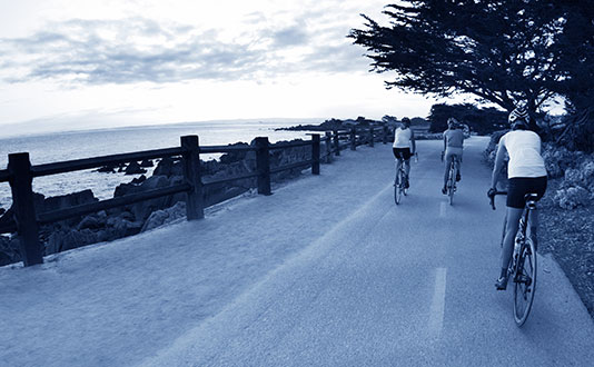 Beachfront Bike Trails