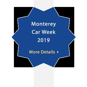 Monterey Car Week 2019